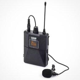 Микрофоны - Беспроводной петличный + головной микрофон UHF UX2, 0