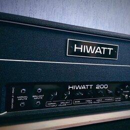 Гитарное усиление - HIWATT 200 model DR201 , 0