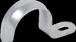 Кабеленесущие системы - Скоба металлическая однолапковая d38-40мм IEK, 0