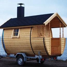 Готовые строения - Строим баню на колесах, 0