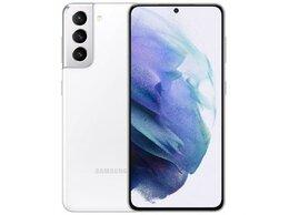 Мобильные телефоны - Samsung Galaxy S21 5G 8/128 White - Новый, 0