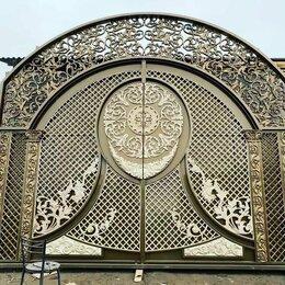 Заборы, ворота и элементы - Ворота, художественное литье, двери , 0