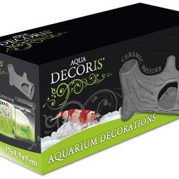 Декорации для аквариумов и террариумов - Укрытие из керамики для аквариума Aquael Ceramic Breeder F-L 17х6х7.5, 0