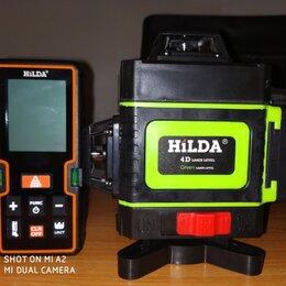 Измерительные инструменты и приборы - Лазерный уровень Hilda-4D, 0