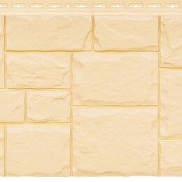 Изоляционные материалы - Фасадная панель Grand Line Крупный камень стандарт бежевая, 0