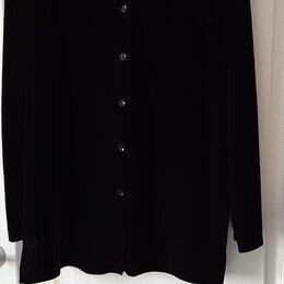 Пиджаки - Кофта-пиджак из велюра Mackays, размер 50-52, 0