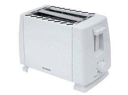 Сэндвичницы и приборы для выпечки - Тостер Gelberk GL-554 белый, 0