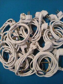 """Шнуры и плафоны - Шнур с литой вилкой 1.5 метра """"3G1,0 кв.мм"""", 0"""