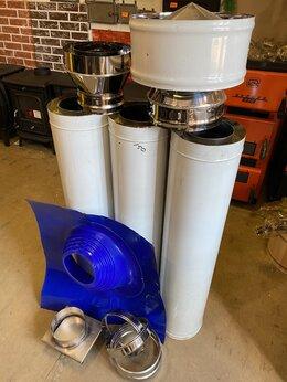 Дымоходы - Комплект дымохода сэндвич ф150/220 мм , 0