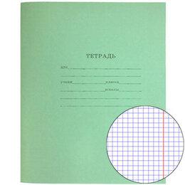 Бумажная продукция - Тетрадь зеленая 12 листов, 0