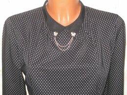 Блузки и кофточки - Блузка в мелкий горошек с украшением Collar…, 0