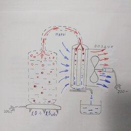 Самогонные аппараты - Дистиллятор воздушного охлаждения на мощность 1 квт. , 0