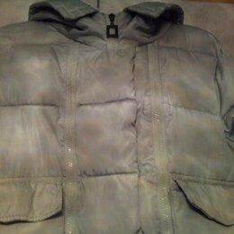 Куртки - Куртка светло-серая с капюшоном. Размер 44-46. Торг. Обмен., 0