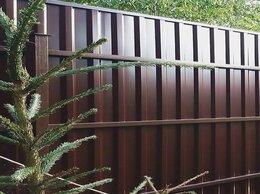 Металлопрокат - Забор из евроштакетника Заборы из профнастила, 0