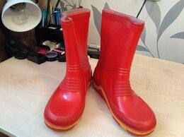 Резиновые сапоги и калоши - Резиновые сапоги Демар Demar цвет красный…, 0