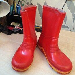 Резиновые сапоги и калоши - Резиновые сапоги Демар Demar цвет красный унисекс размер 31, 0