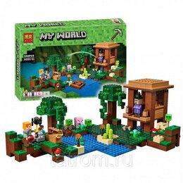 Игровые наборы и фигурки - Конструктор Minecraft My World «Хижина ведьмы», 0