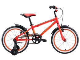 """Велосипеды - Велосипед WELT Dingo 18"""" (2020) (красный-желтый), 0"""