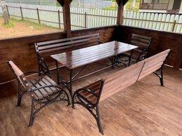 Комплекты садовой мебели - Садовый комплект, мебель садовая, скамейка,…, 0