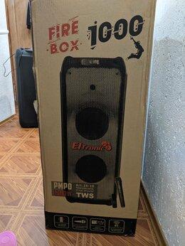 Портативная акустика - Fire box 1000 Беспроводная колонка 1200 Ватт, 0