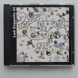 Музыкальные CD и аудиокассеты - CD LED ZEPPELIN 1970/1994 LED ZEPPELIN III серия BiG RUSSIA NM/NM 3 bonus tracks, 0