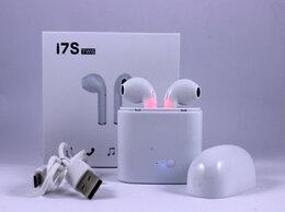 Наушники и Bluetooth-гарнитуры - Беспроводные наушники i7s c зарядным боксом, 0