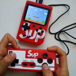 Игровые приставки - Портативная приставка Sup Plus 400в1 с джойстиком, 0