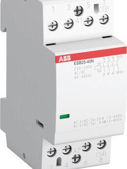 Реле - Модульный контактор ESB25-40N-06 модульный (25А…, 0
