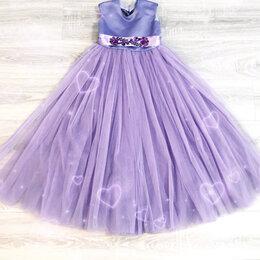 Платья и сарафаны - Праздничное платье 128-134 (100см), 0
