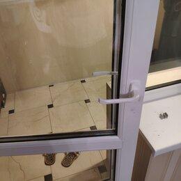 Ручки дверные - Ручка двухсторонняя на балконную дверь, 0