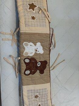 Постельное белье - бортик в детскую кроватку, 0