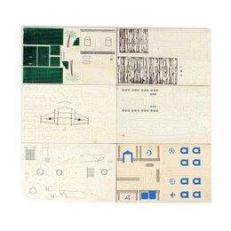 Конструкторы - 3D модель сборная деревянная, арт. 344, 0