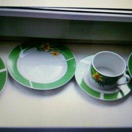 Сервизы и наборы - Сервиз новый столовый+чайные пары 30 предметов, 0