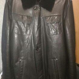 Куртки - Куртка кожаная estimo р46, 0