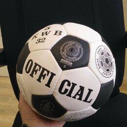 Мячи - Футбольный мяч. 5 р. Ручная сшивка, 0