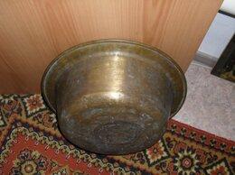 Ведра и тазы - продаю старинный латунный таз ручной работы, 0