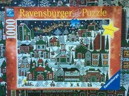 Пазлы - Пазл, 1000 деталей - Рождество, Ravensburger, 0