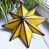 Ночник Вифлеемская звезда из витражного стекла по цене 15000₽ - Настенно-потолочные светильники, фото 6
