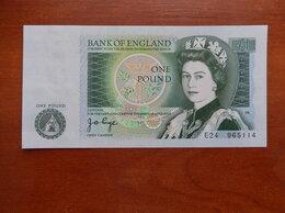 Банкноты - ВЕЛИКОБРИТАНИЯ  1 фунт 1978-80 г.г., 0