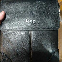 Сумки - Сумка мужская новая в упаковке jeep, 0