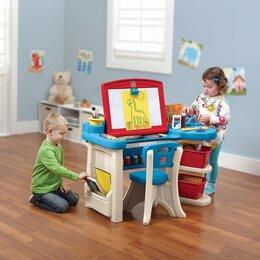 Столы и столики - Стол-мольберт для творчества Step2 Studio Art Desk, 0