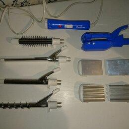 Щипцы, плойки и выпрямители - Прибор для укладки волос Binatone 6 в 1, 0