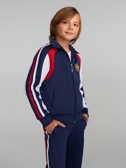 Спортивные костюмы и форма - Детские спортивные костюмы России с гербом синие…, 0