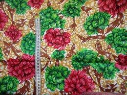 Ткани - Ткань отрез Индия сатин советский винтаж 3,0*1,2…, 0