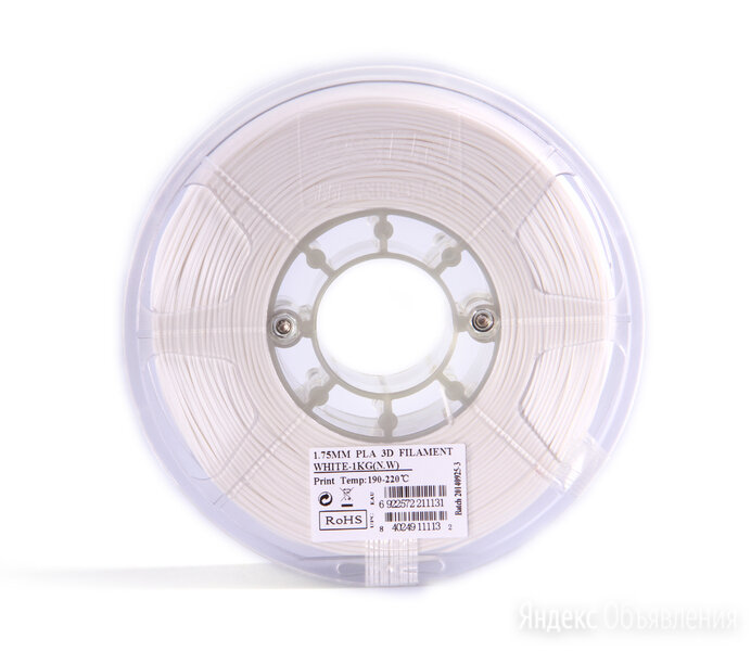 Катушка пластика PLA Esun 1.75 мм (1 кг) пурпурный по цене 1590₽ - Картриджи, фото 0