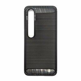 Чехлы - Xiaomi Mi 10 чехол UniCase Carbon черный, 0