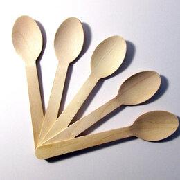 Одноразовая посуда -  Ложки одноразовые 160 мм, 50 предм., 0