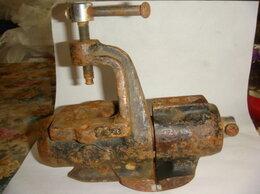 Тиски - Тиски станок чугун винтаж 60х годов, 0