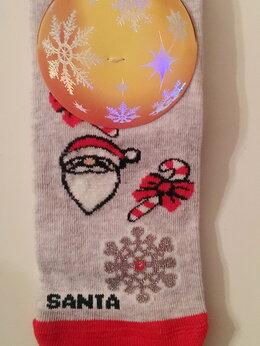 Колготки и носки - Новогодние веселые носки, 0