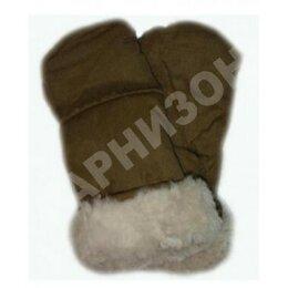 Перчатки и варежки - Рукавицы двупалые защитного цвета из…, 0